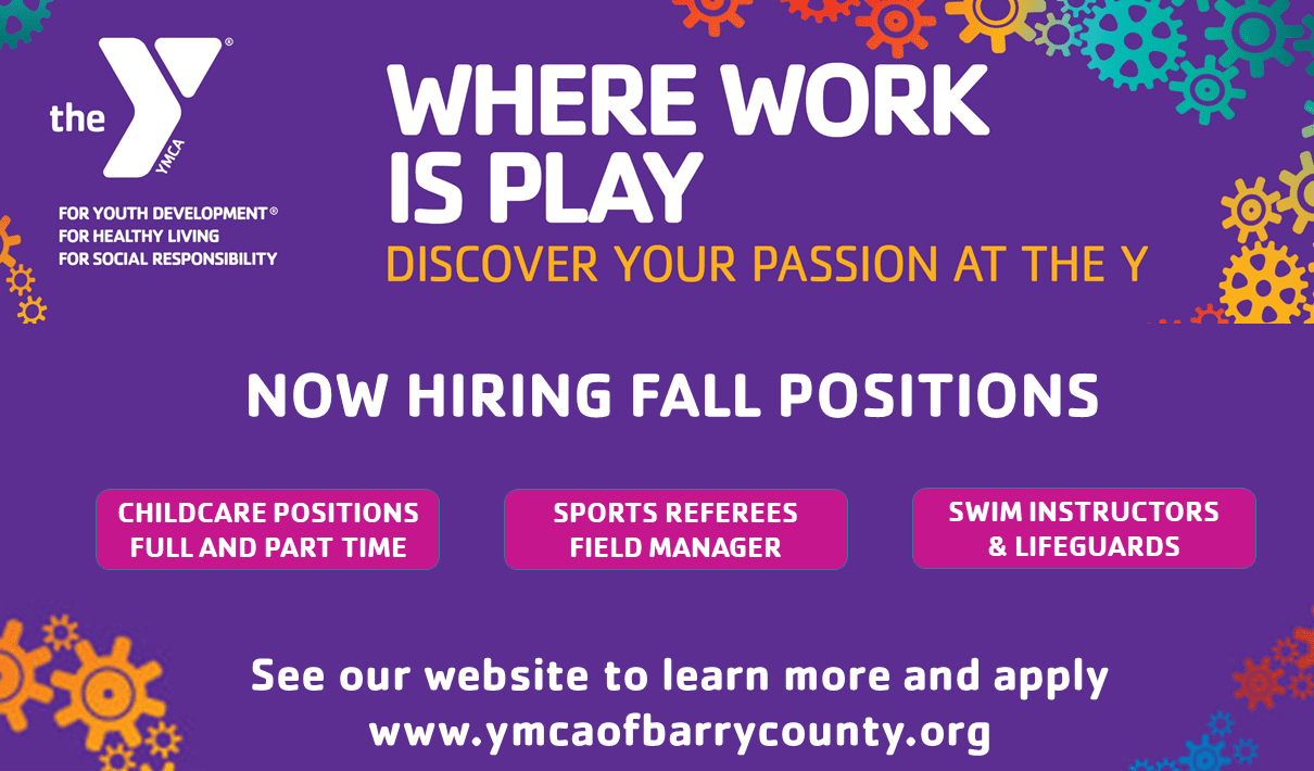 Youth, Family & Adult Programs | YMCA of Barry County
